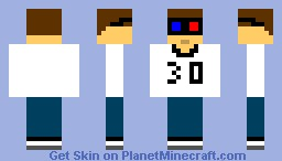 3D Movie Watcher Minecraft Skin