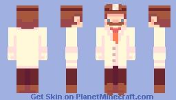 dr. mario Minecraft Skin