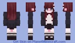 tsuki hollows [die wonder] Minecraft Skin