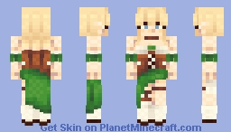 You are a Warrior - CE Minecraft Skin