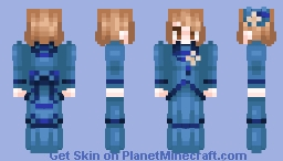 Victorian Walking Dress Minecraft Skin
