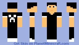 Simple guy series (Gothic) Minecraft Skin