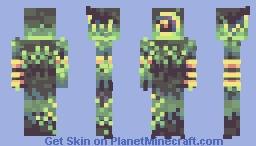 A moss golem 🌿 Minecraft Skin