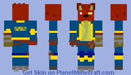 Cody Redwool J EX (2019 EDITION) Minecraft Skin
