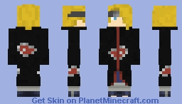 Deidara: Naruto Shippuden (#0357) Minecraft Skin