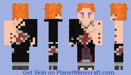 Pain defeated: Naruto Shippuden (#0357) Minecraft Skin