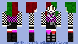 alt girl Minecraft Skin