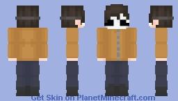 ~ behind the mask ~ Minecraft Skin