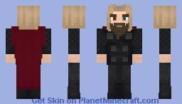 Thor endgame Minecraft Skin