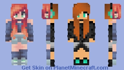 2 Year Difference! Minecraft Skin