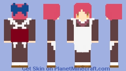 Kohaku Tsukihime / Melty Blood Minecraft Skin