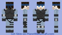 Solid Snake (Metal Gear Solid) Minecraft Skin