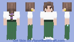 [LOTC]  Green and clean Minecraft Skin