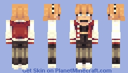 Jock's Girlfriend Minecraft Skin