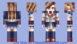 Charlotte Aulin Minecraft Skin