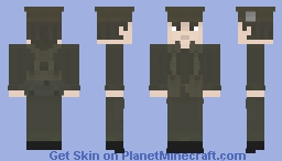 Private, 1st Battalion Royal Scots on Exercise, Libya 1963 Minecraft Skin