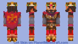 Constantine XI Dragases Palaiologos Minecraft Skin
