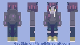 On the moon | fanskin Minecraft Skin