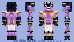 Star Platinum Minecraft Skin