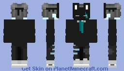Bunny Mask Boy Minecraft Skin