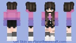 Bi Pride Girlio Minecraft Skin