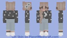 *+☆ 𝓢𝓽𝓪𝓻𝓼 ☆+* Minecraft Skin