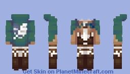 AOT Minecraft Skin