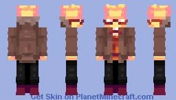 FellSwap (Gold) Grillby. Minecraft Skin