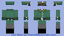 Archische Ordnungspolizei - Alt-Hist Colonial German Order Police Minecraft Skin