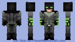 Batman Krypto-Suit v2 Minecraft Skin