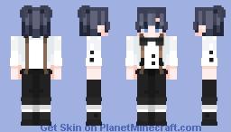Suspenders. Minecraft Skin