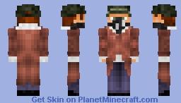 Watch Dogs: Aiden Pierce Minecraft Skin