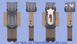 sakurajima mai / 桜島 麻衣 (school ver.)! Minecraft Skin