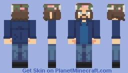 Jim Morrison | The Doors | 1969 Minecraft Skin