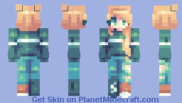 ♡ 𝓿𝒶𝓁𝓀𝓎𝓇𝒾𝑒𝓃 ♡ evergreens | st Minecraft Skin
