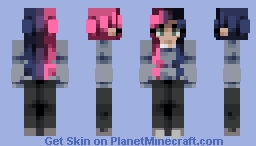 I'm the B in this B@!$h, Bi pride all day Minecraft Skin
