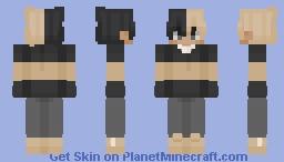 black and yellow, black and yellow, black and yellow Minecraft Skin