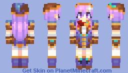 4GO Nepgear Minecraft Skin