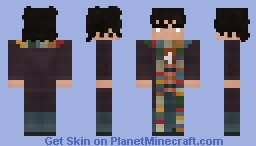fourth Doctor | Doctor Who | Variant II Minecraft Skin