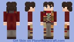 The Fourth Doctor Minecraft Skin