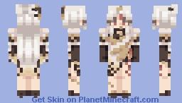 ningguang Minecraft Skin
