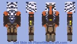 Ahsoka Tano (Star wars Rebels) Minecraft Skin