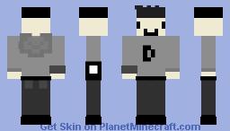 Hoodie boy[read disc] Minecraft Skin