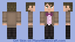 The 11th Doctor [ 51 Subscribers Special ( Because 50 is too mainstream ) ] -3D Details- Minecraft Skin