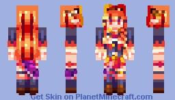 .;* kiryu coco *;. Minecraft Skin