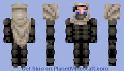A Fremen from the planet Arrakis Minecraft Skin