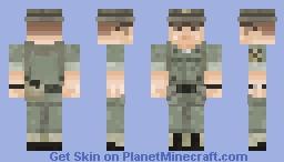 1st Cavalry Division officer《Vietnam War》 Minecraft Skin