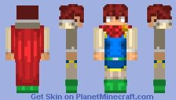 Bartz Klauser (Freelancer Costume) - Final Fantasy V Minecraft Skin