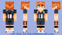 Hinata Shoyo || Haikyuu!! Minecraft Skin