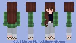 skater girl kinda Minecraft Skin
